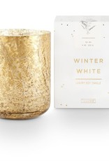Luxe Sanded Boxed Tumbler Winter White Candle