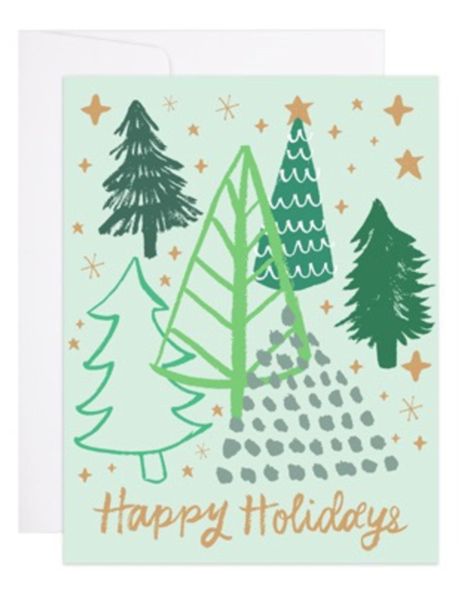 Happy Holiday Forest Card