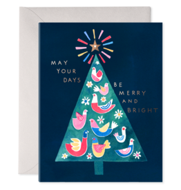 Merry Tree Holiday Card