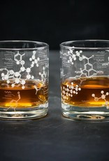 Science of Whiskey Rocks Glass