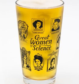 Women of Science Pint Glass 16oz