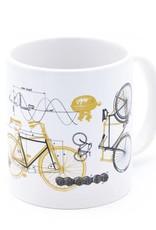 20oz Science of Bicycle Mug