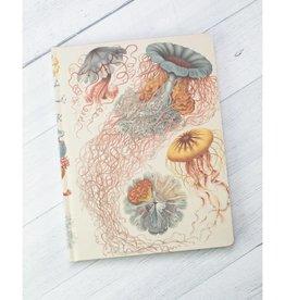 Haeckel Jellyfish Hardcover Notebook