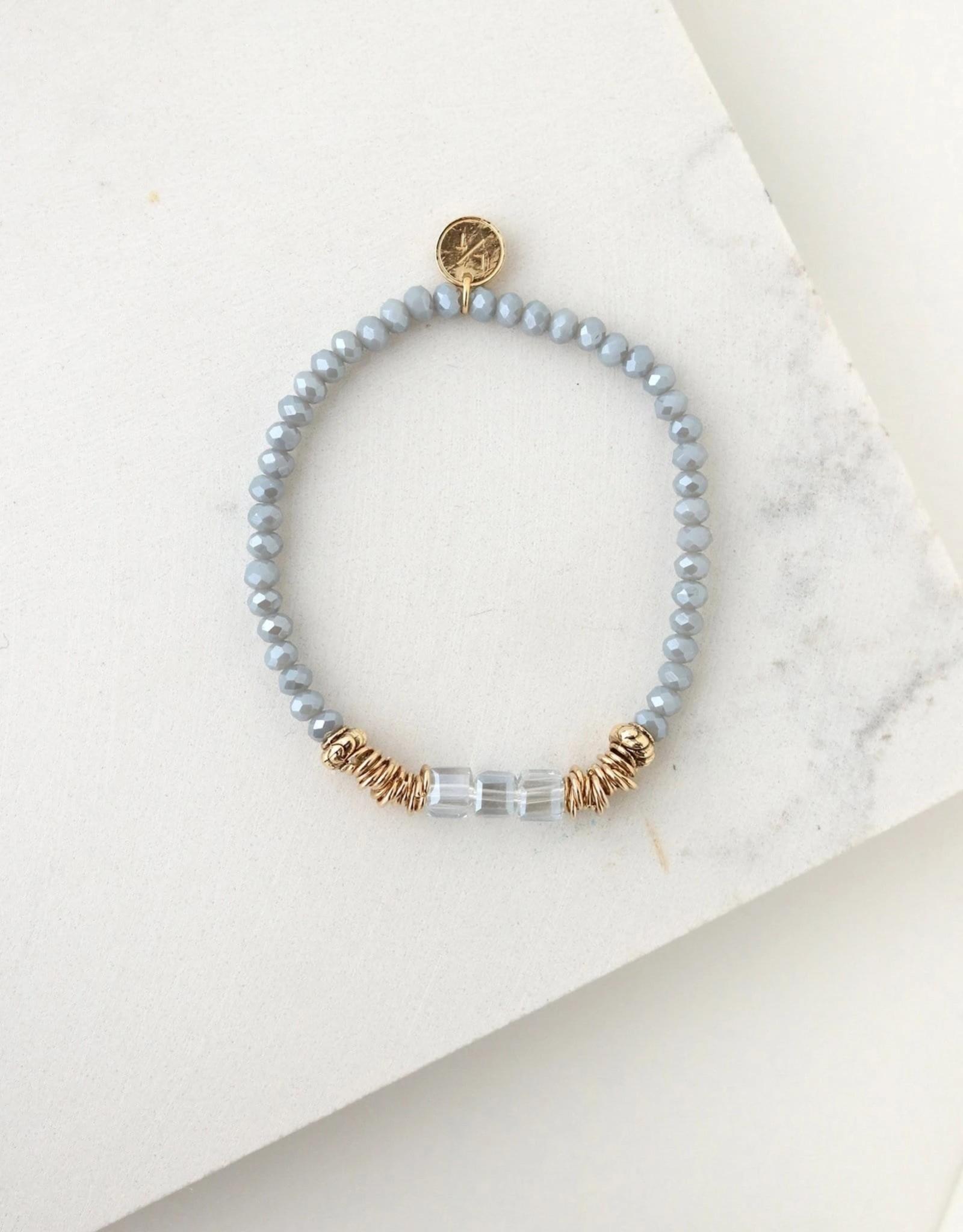 Marilla Stretch Bracelet - Blue