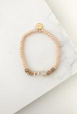 Bracelet, Marilla Stretch, Creamsicle
