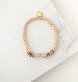 Marilla Stretch Creamsicle Bracelet
