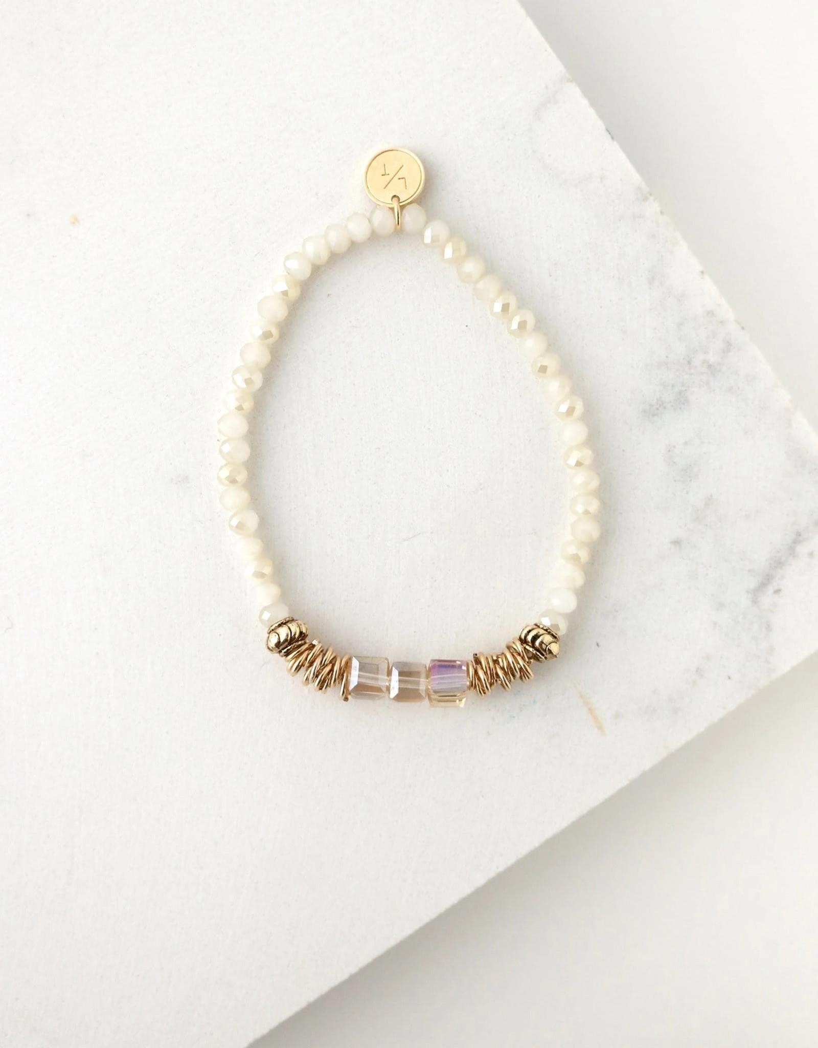 Marilla Stretch Marshmallow Bracelet