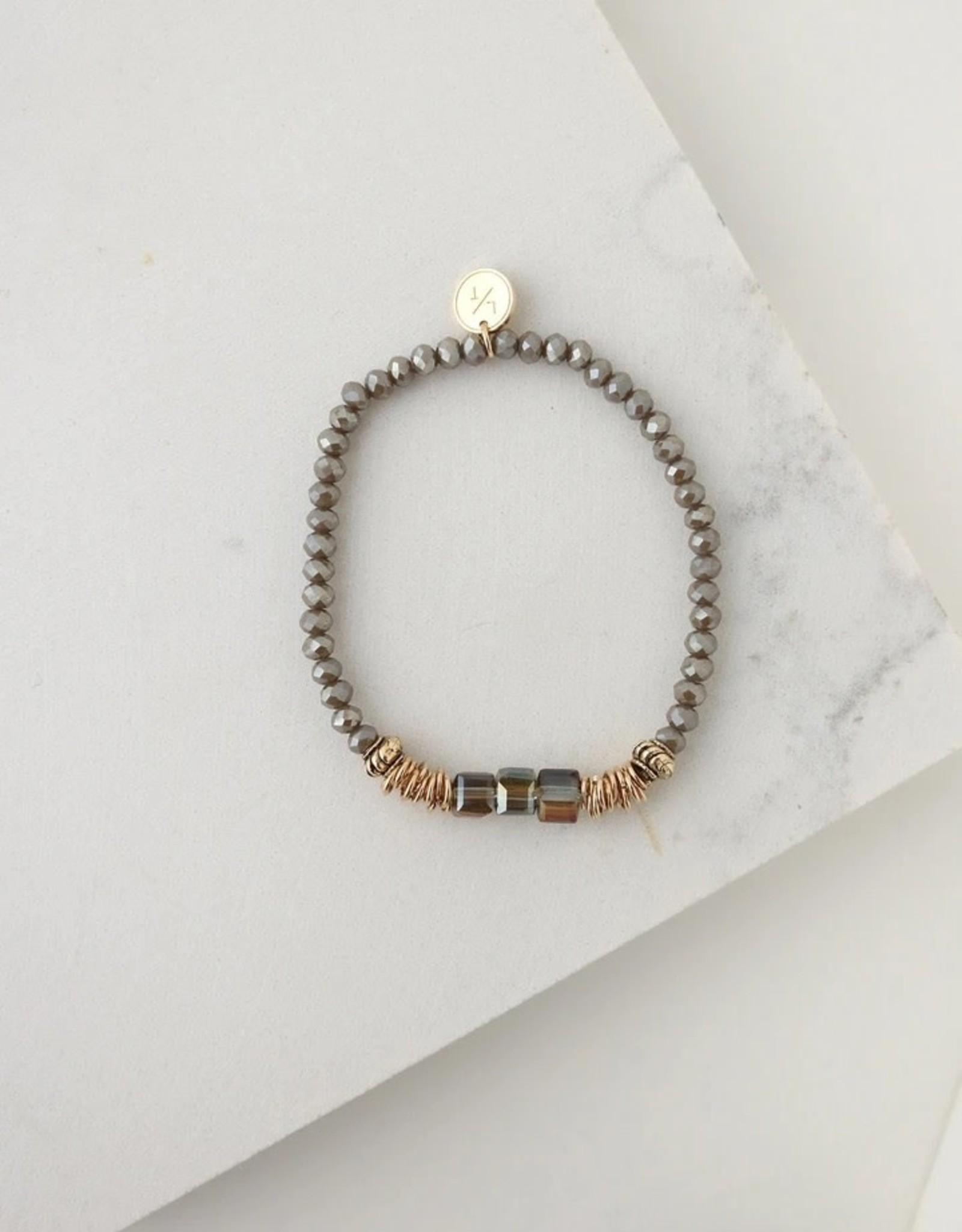 Marilla Stretch Truffle Bracelet