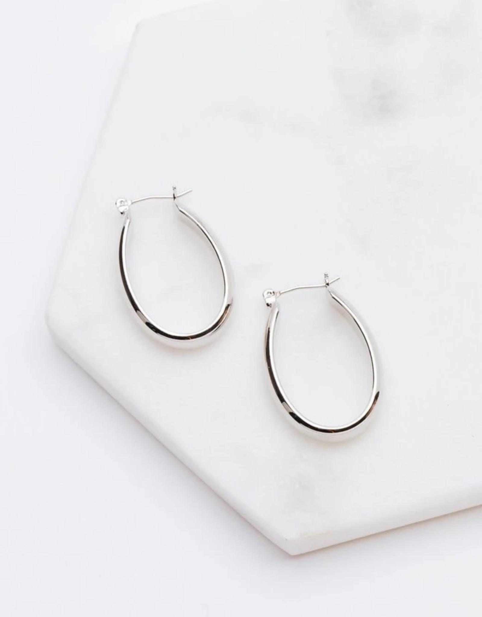 Odette Earrings - Silver