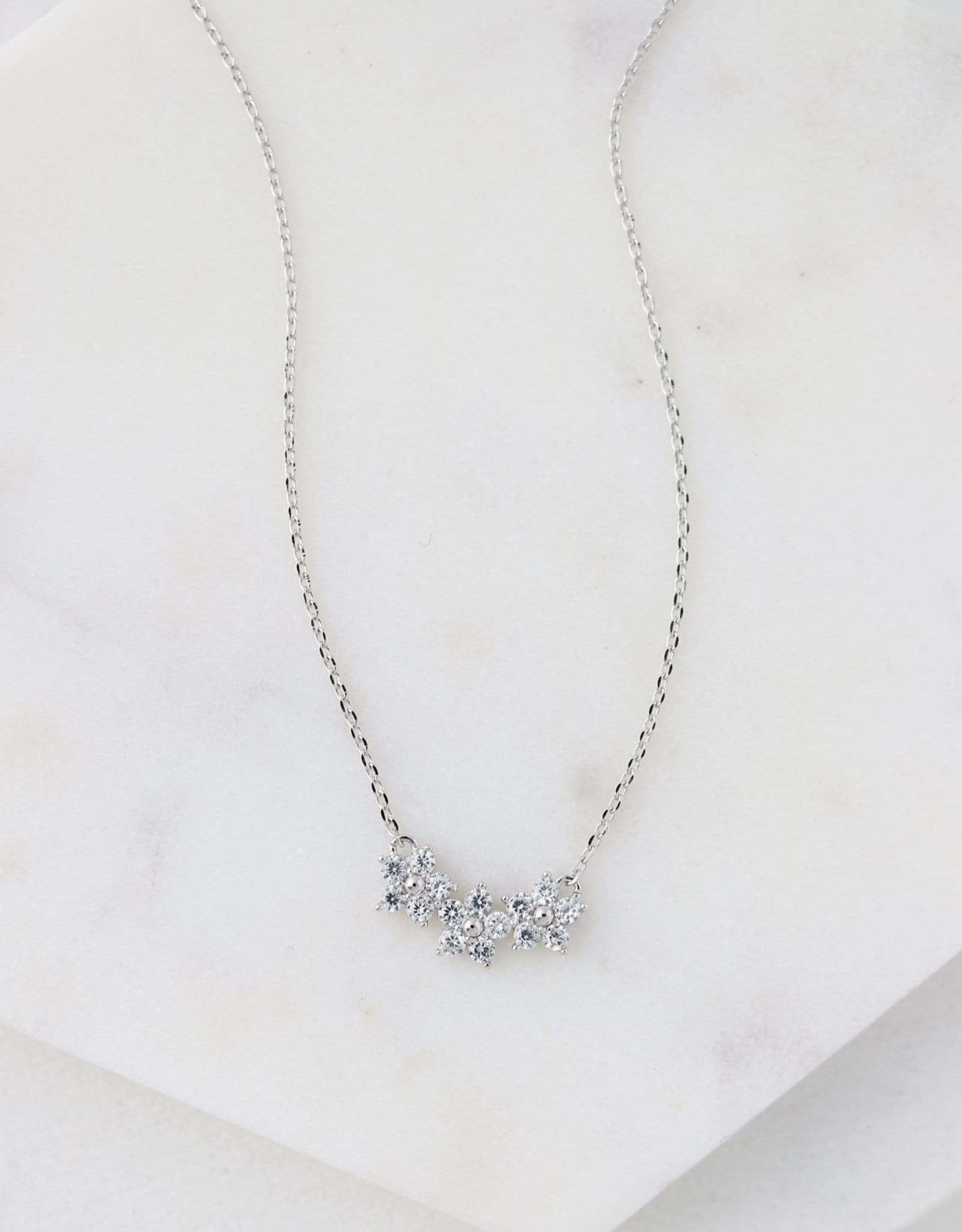Blossom Necklace - Silver