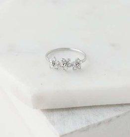 Blossom Ring, Silver