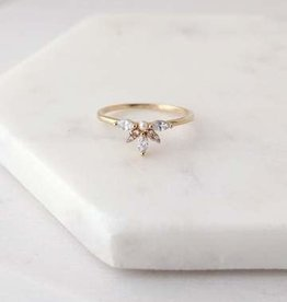 Harlowe Ring Size 7 - Gold