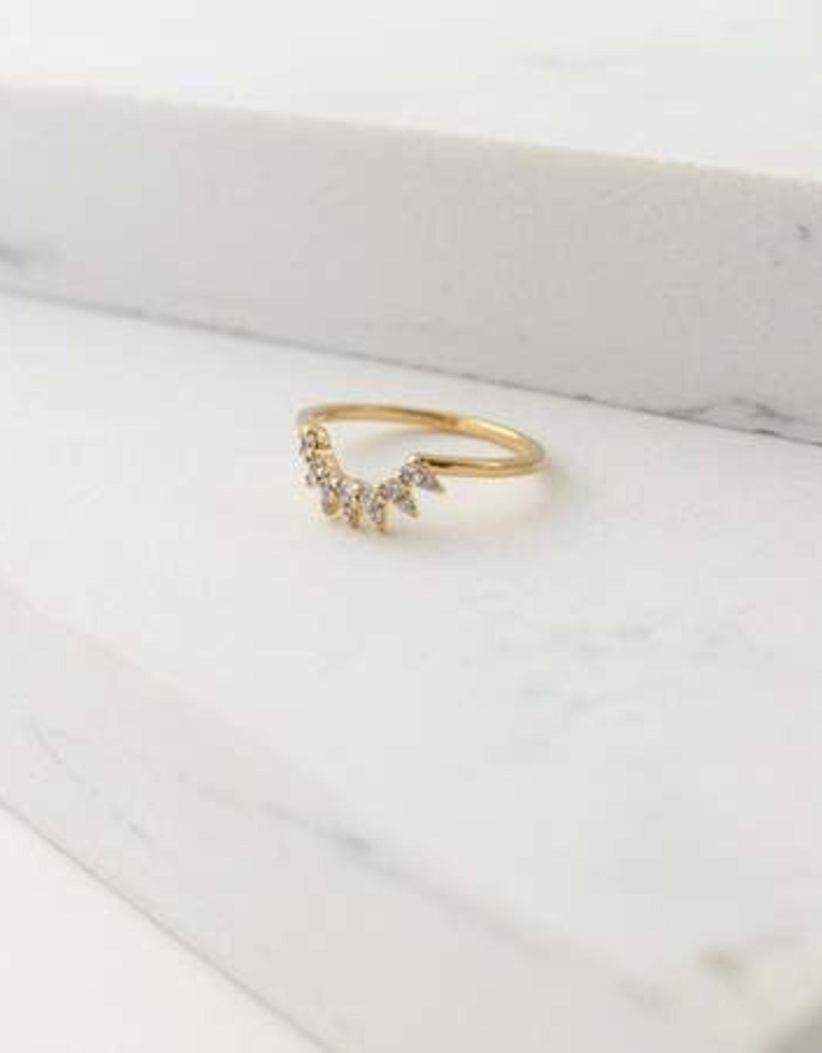 Nova Ring Size 7 - Gold