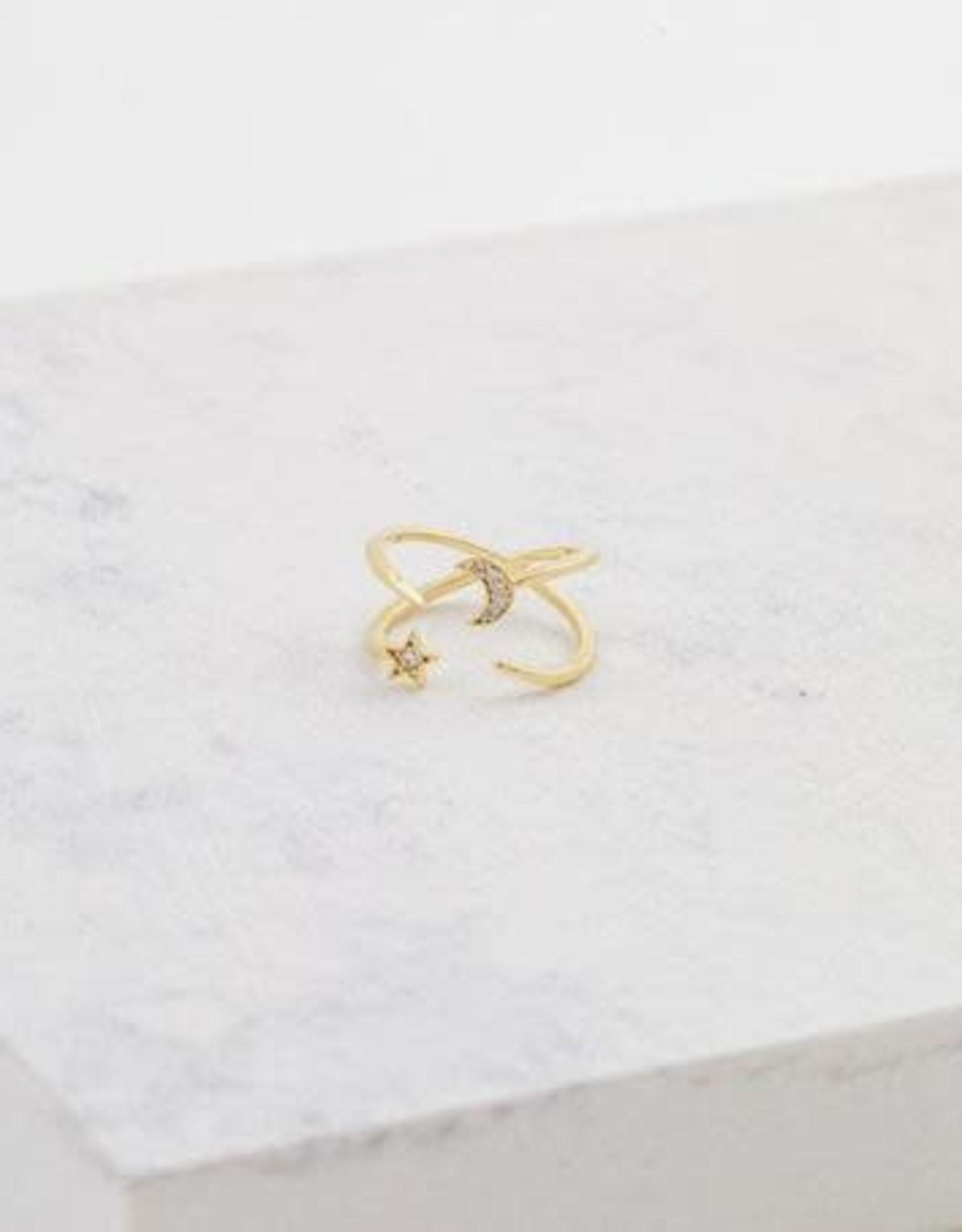 Ring, Galaxy Gold, Brass w/ Gold Plating