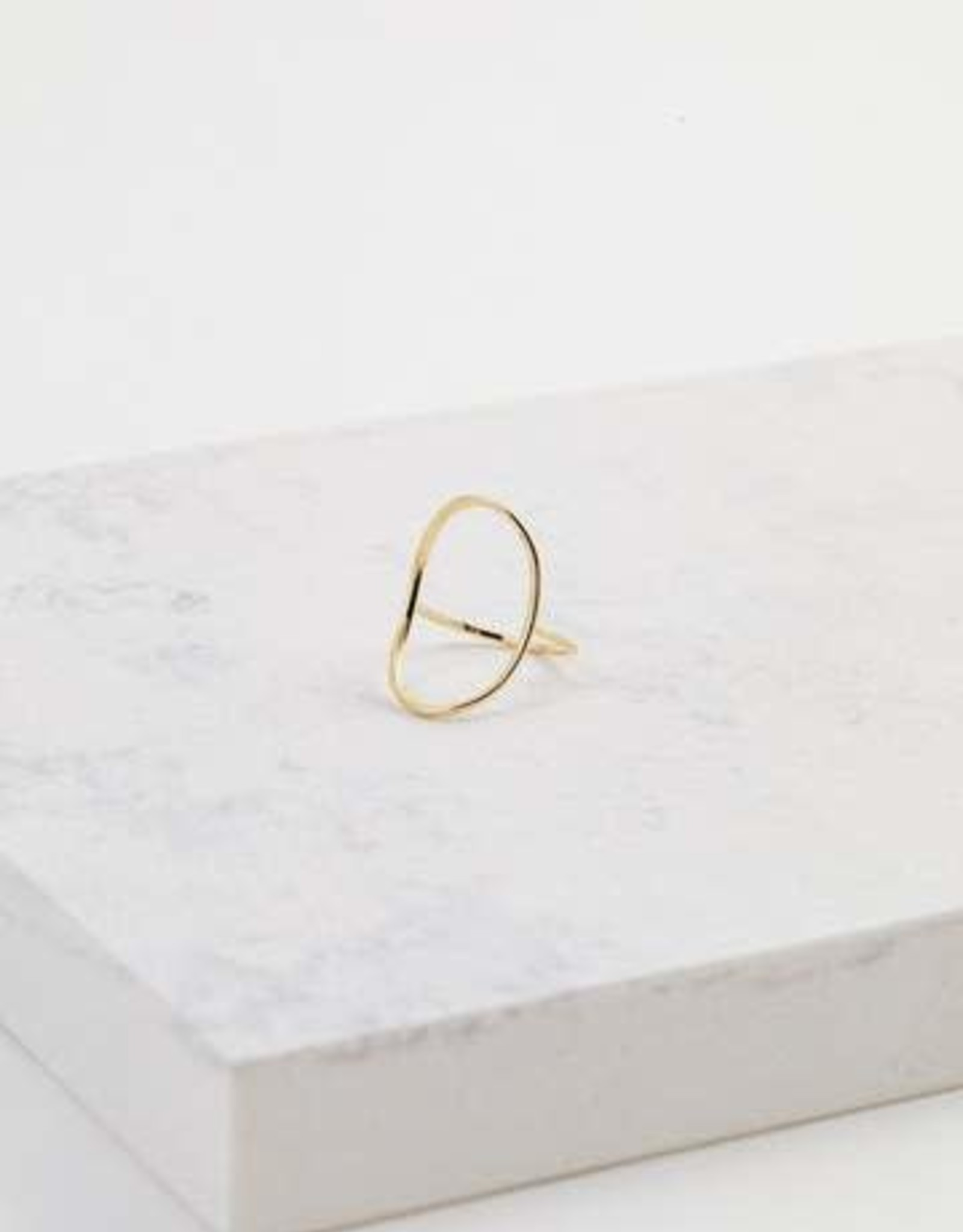 Gold Plated Brass Origin Ring