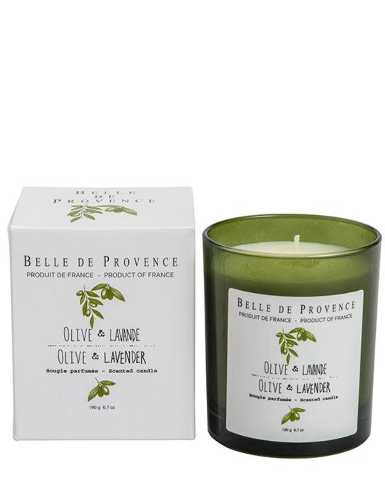 190g Olive Lavender Candle