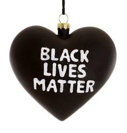 Black Lives Matter Heart Ornament