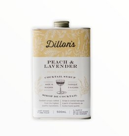 Dillon's Peach and Lavender Cocktail Simple Syrup