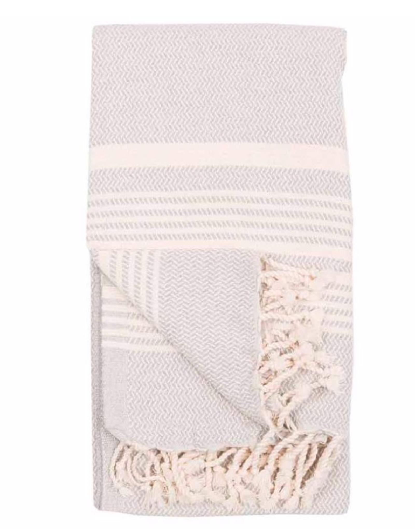 Slate Hasir Turkish Towel