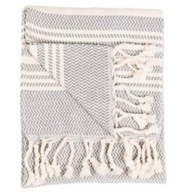 Slate Hasir Turkish Hand Towel