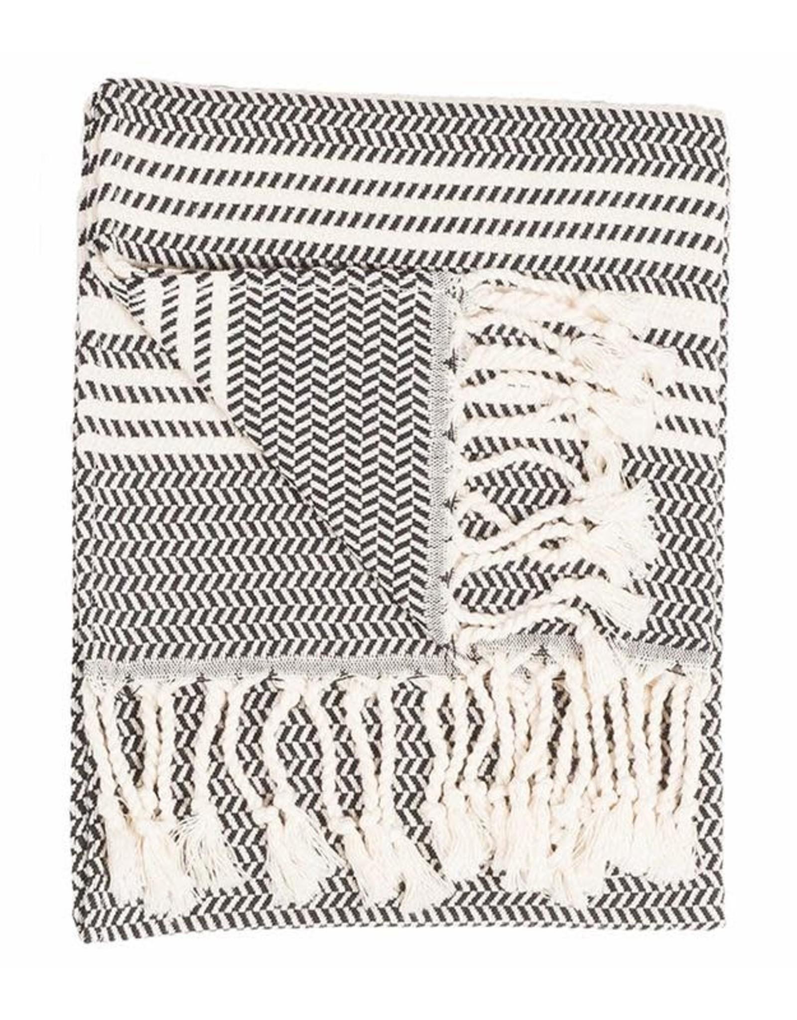 Carbon Hasir Turkish Hand Towel