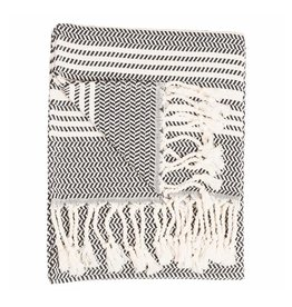 Carbon Hasir Turkish Hand Towel