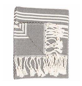 Turkish Hand Towel, Carbon Hasir
