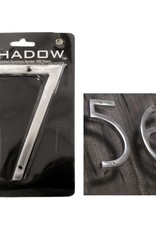 """6"""" Polished Alumninum House Number, 7"""