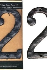 Rustic House Number, 2