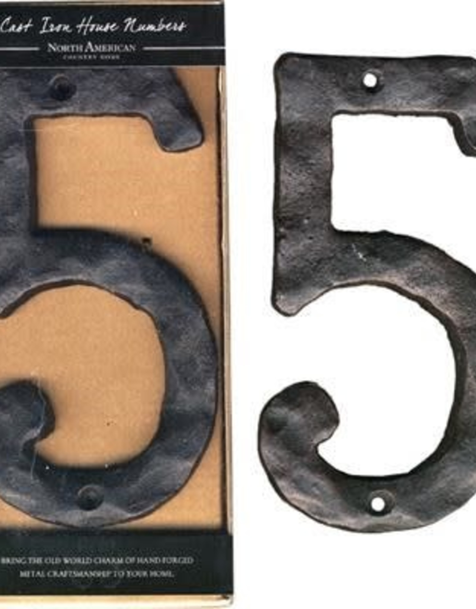 Rustic House Number 5
