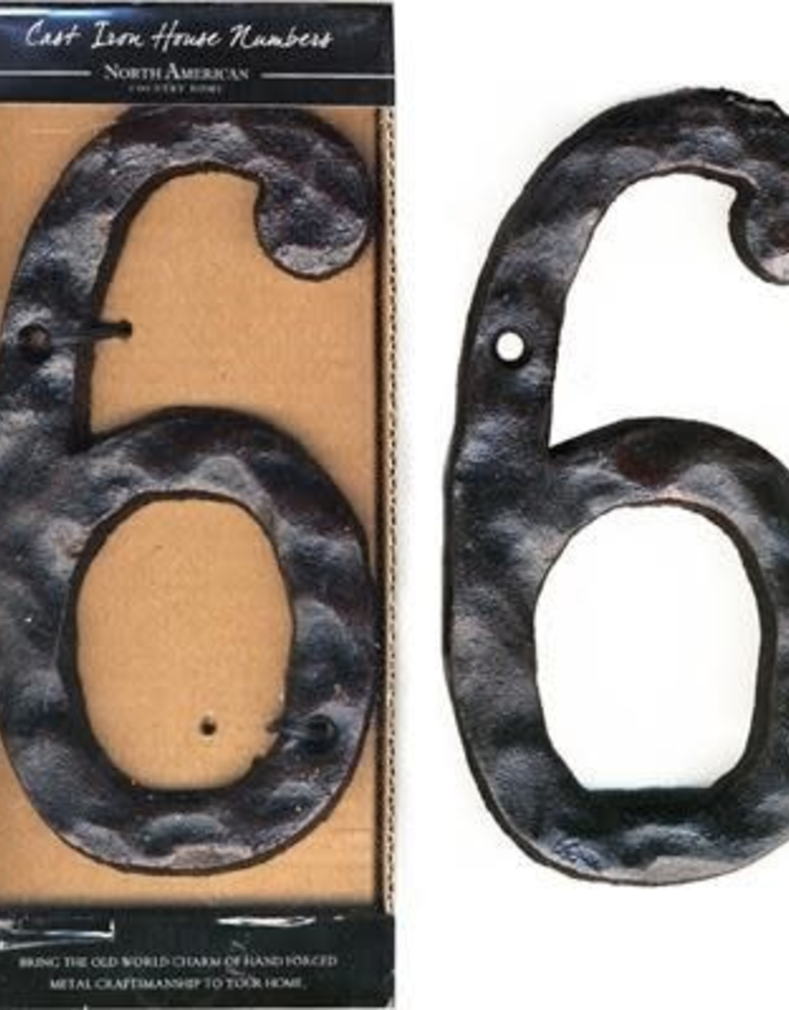 Rustic House Number 6