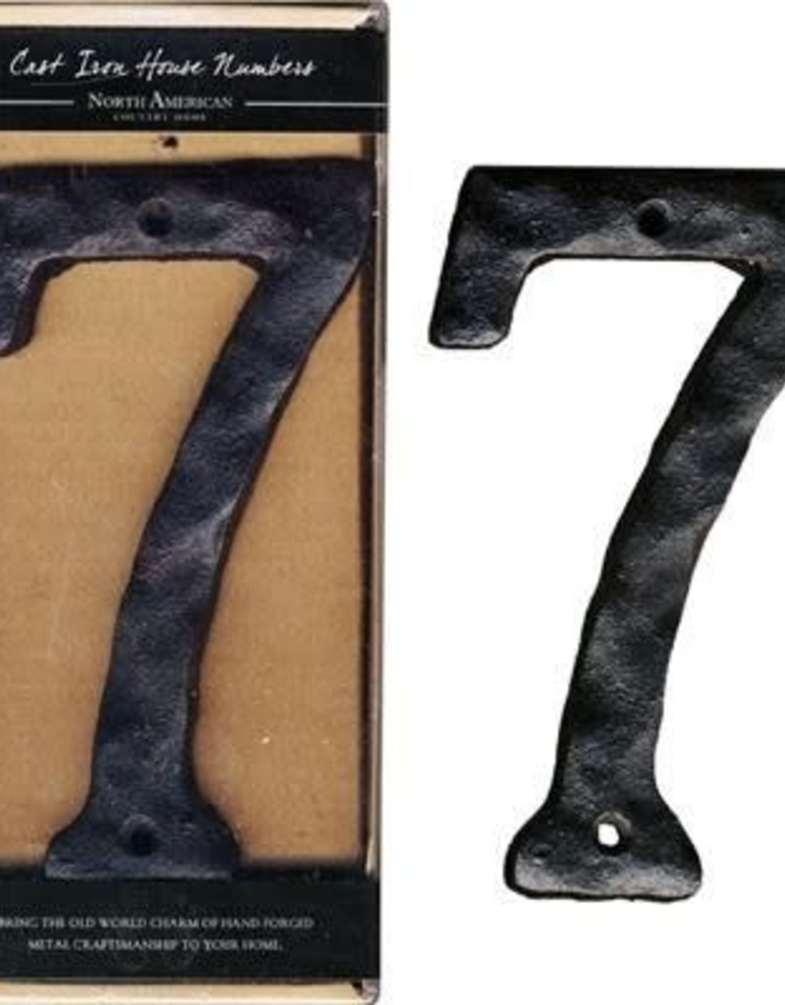 Rustic House Number, 7