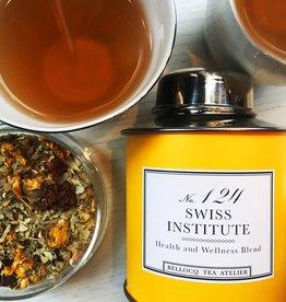 No.124 Swiss Institue Tea Yellow Traveler Caddy 86g