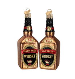 Whiskey Christmas Ornament