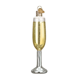 Champagne Flute Christmas Ornament
