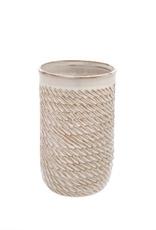 Medium Cream Sombrio Vase