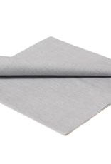 Silver Dinner Napkin, Pack of 15