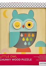 Little Owl Chunky Wood Puzzle