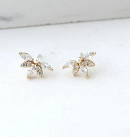 Harlowe Stud Earrings - Gold