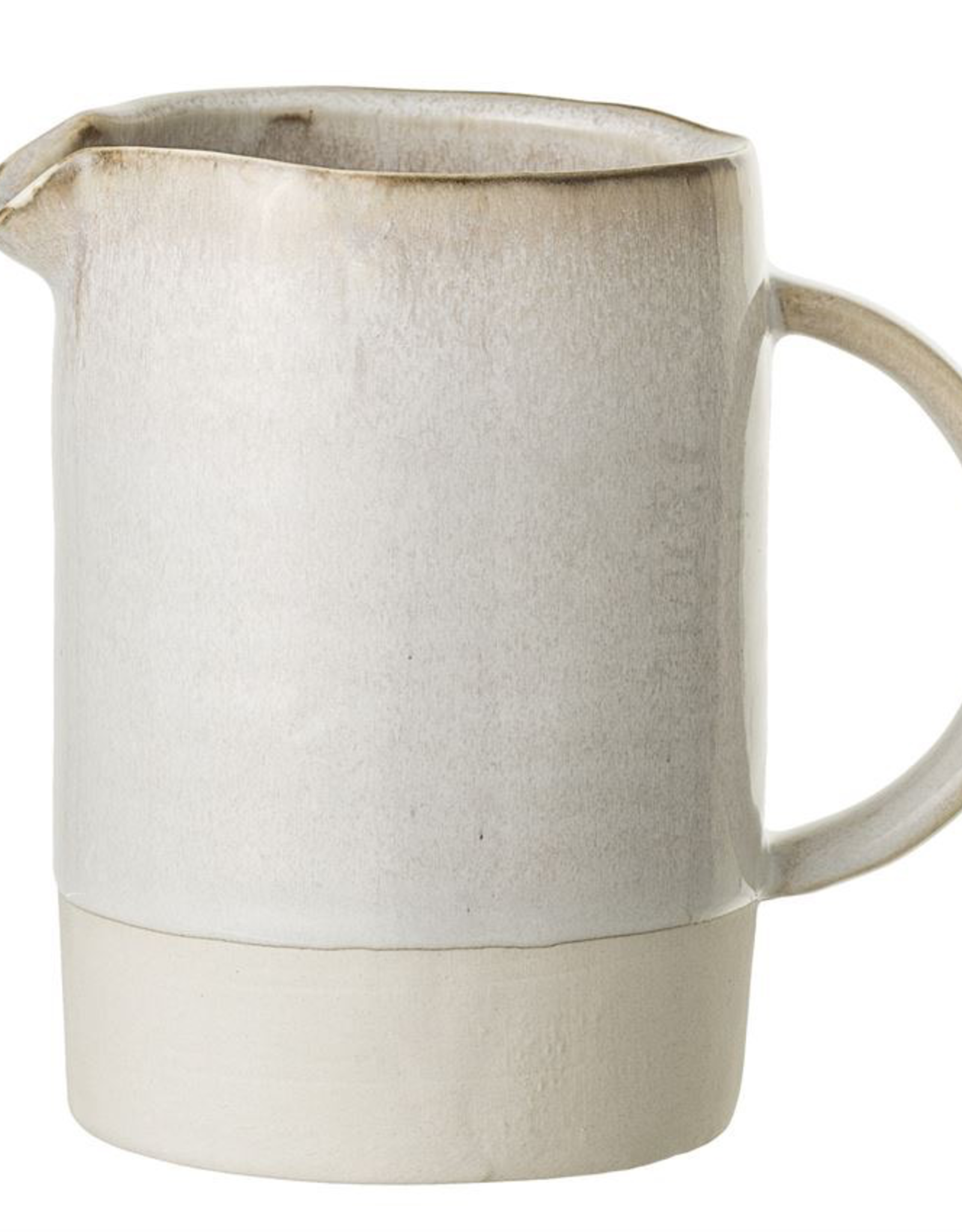 Stoneware Carrie Reactive Glaze Pitcher