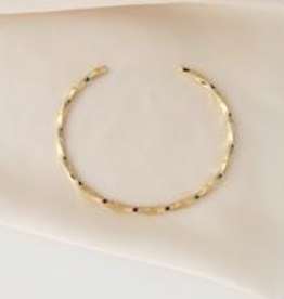 Gold Honey Bangle