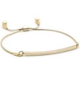 Mora Bar Bracelet - Gold