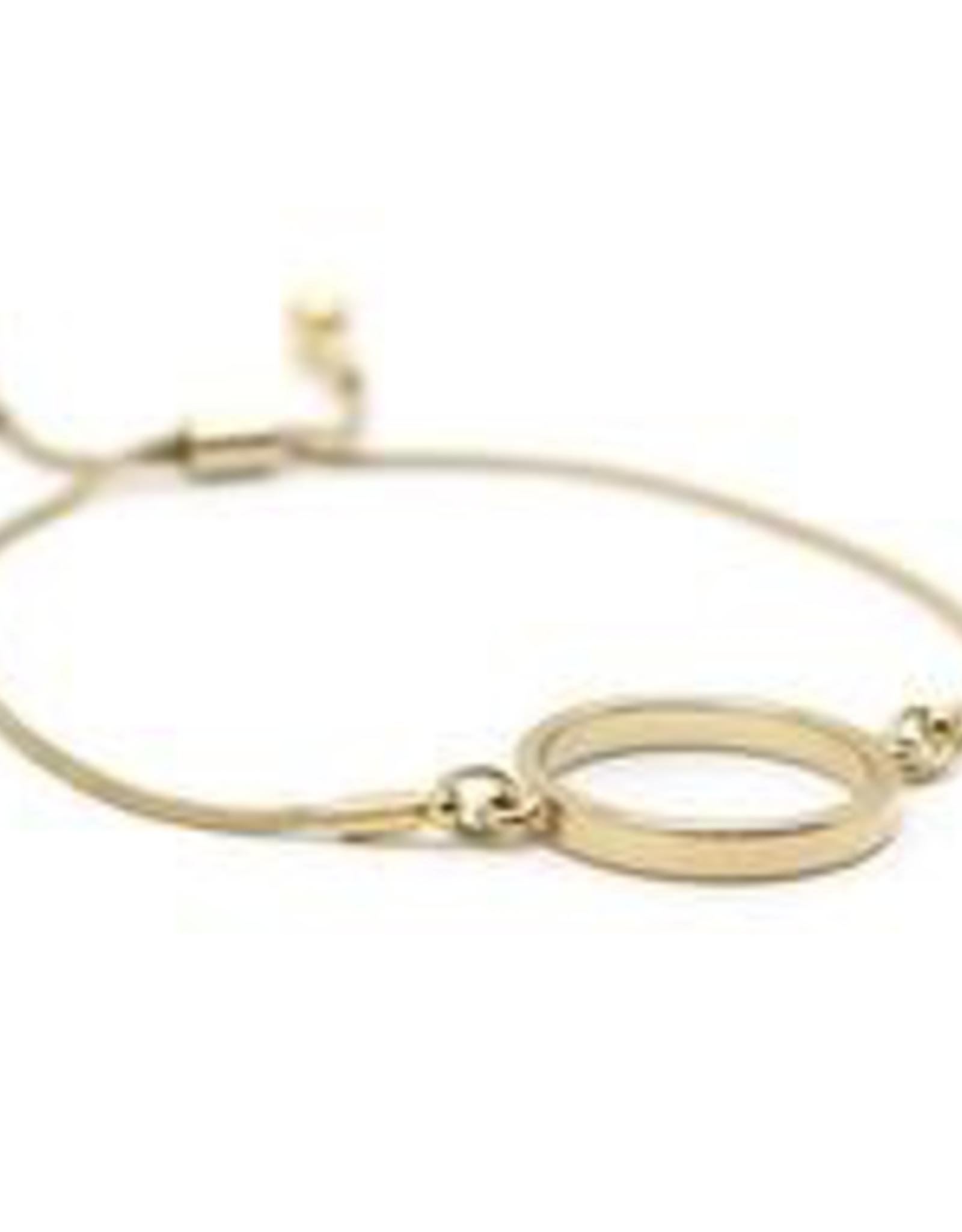 Kit Hoop Bracelet - Gold