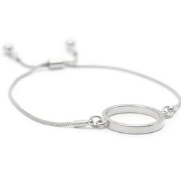 Kit Hoop Bracelet - Silver