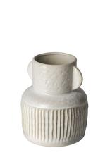 Small Cream Judy Vase with Handles