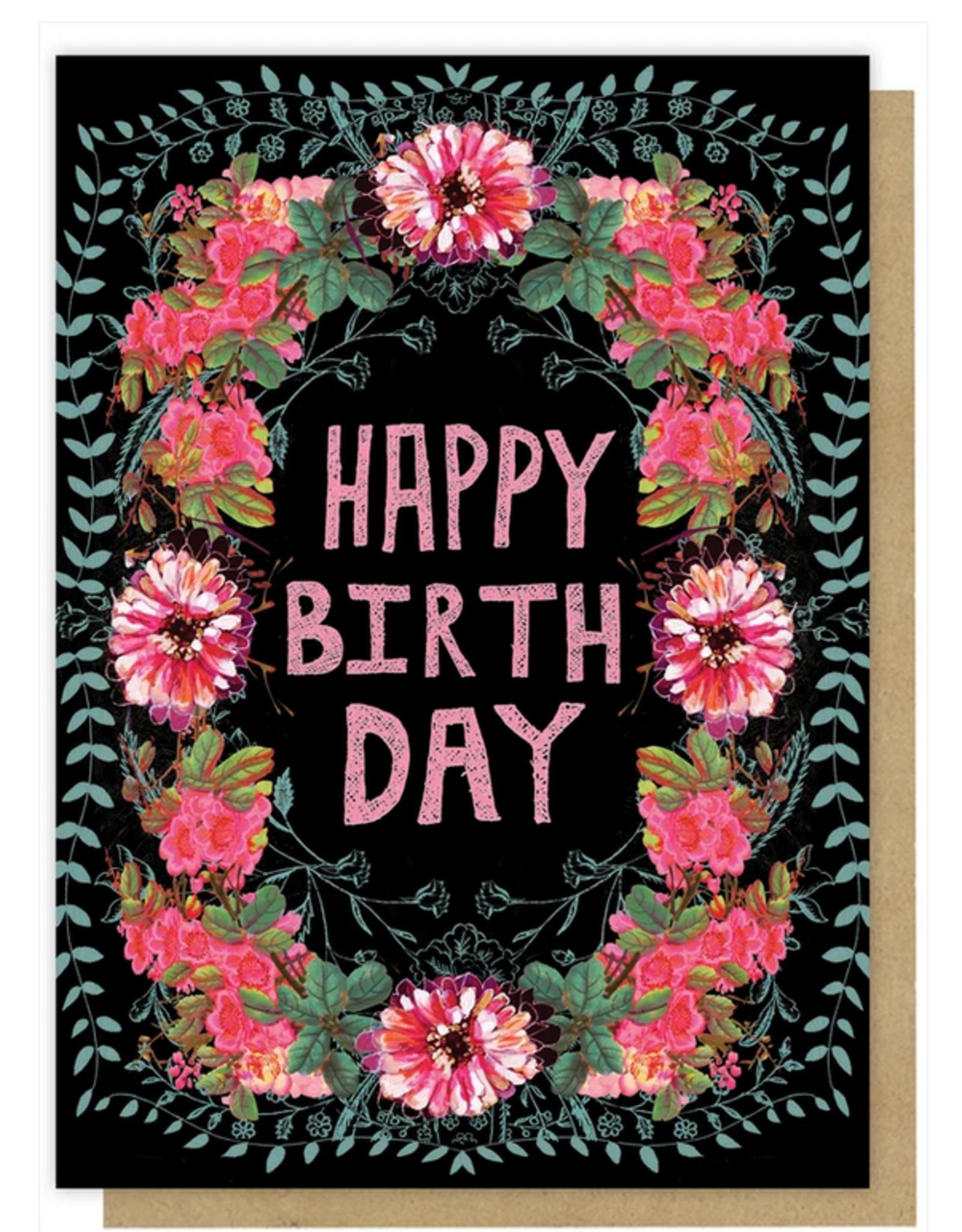 Gypsy Floral Card