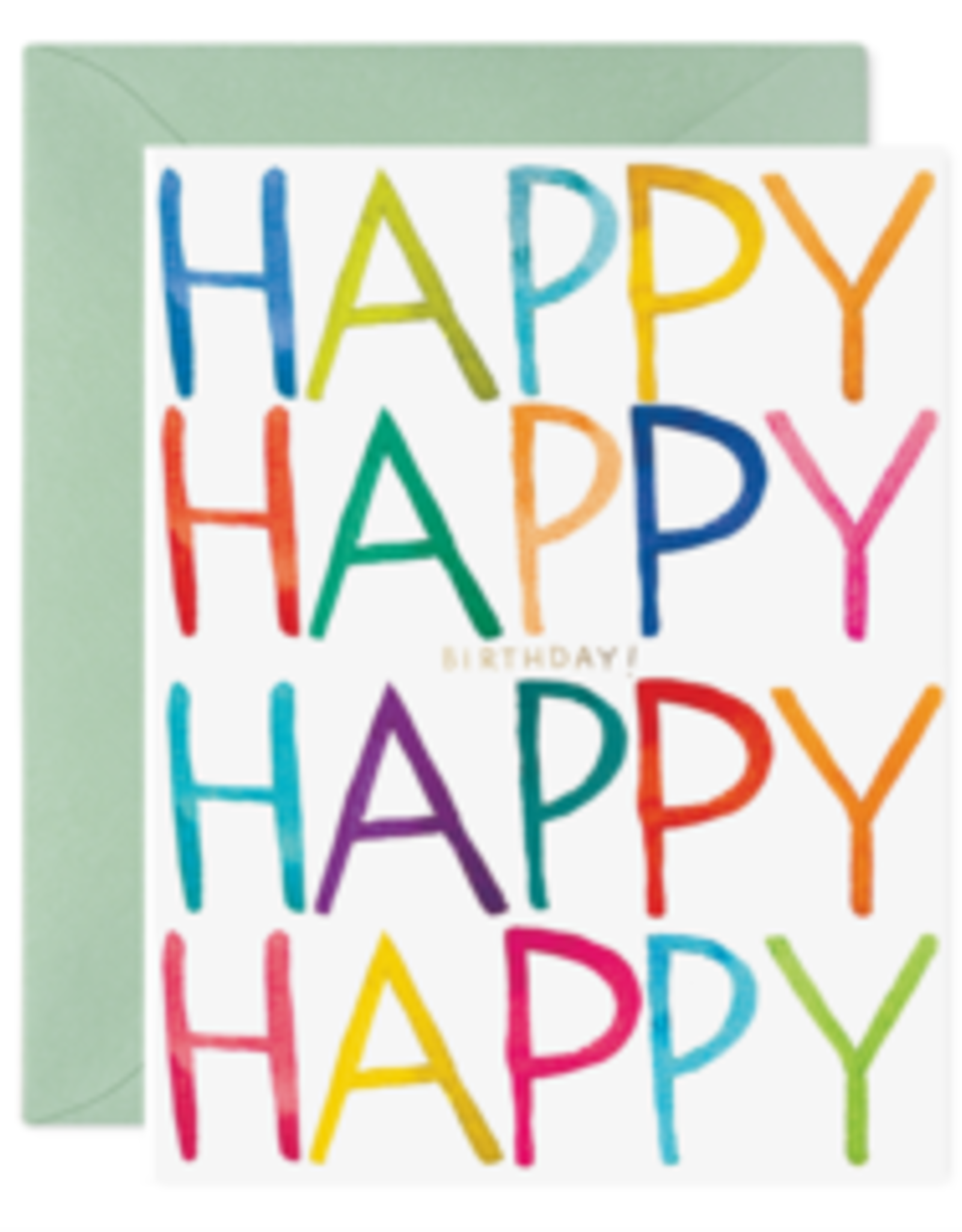 Really Happy Birthday Card