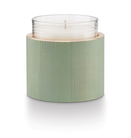 Winter Mint Candle in Wood - Reg $35 - Now $17