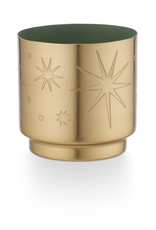 Evergreen Candle in Gold Tin - Reg $21 - Now $10
