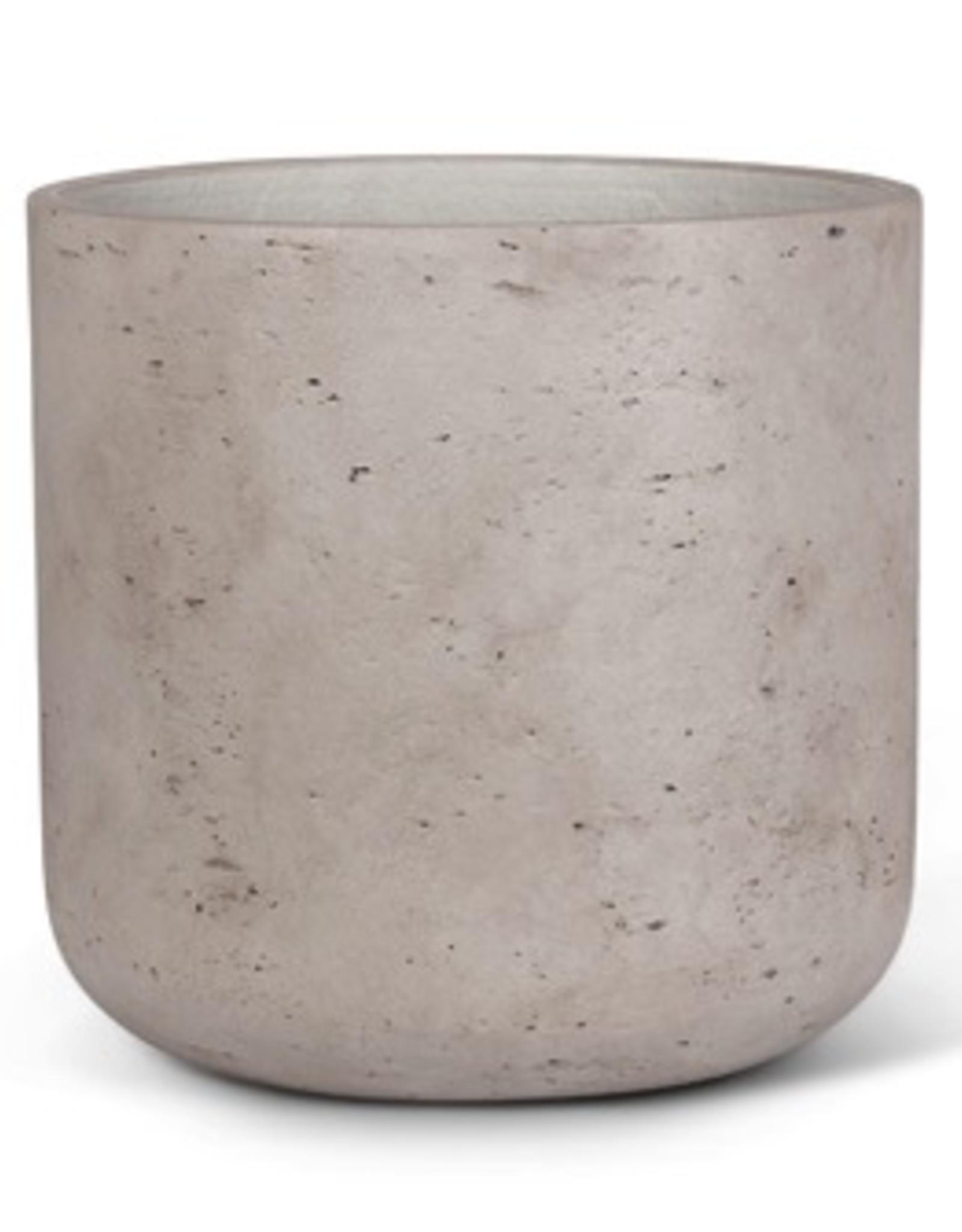 "12.5"" X Large Grey Quarry Pot"